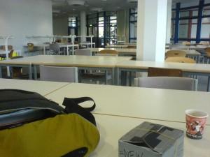 Erster im Lernraum