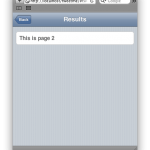 JQTouch example screenshot 02