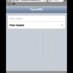 JQTouch example screenshot 03