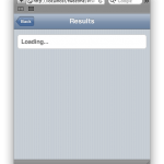 JQTouch example screenshot 04