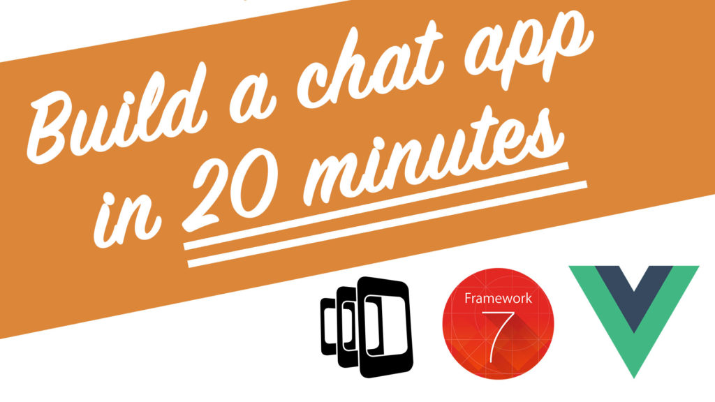 Chat app in 20 minutes