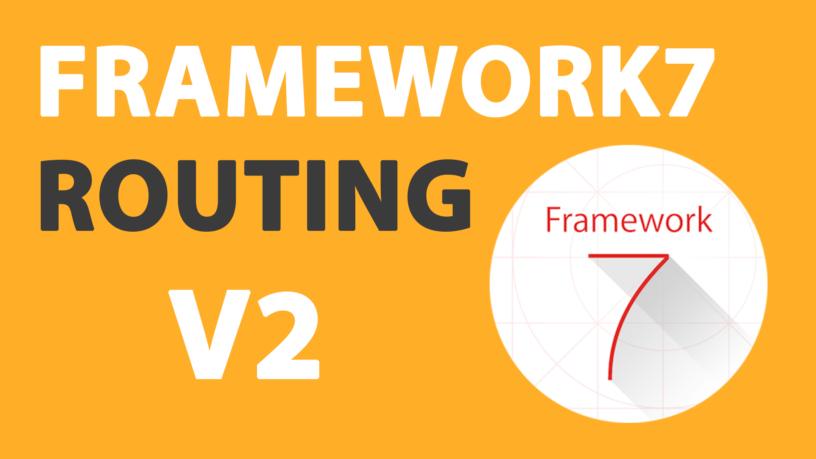 framework7 Archives | Timo Ernst